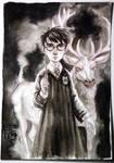 Harry and His Patronus Charm