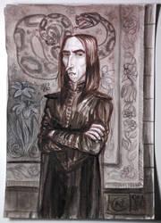 Severus Snape by feliciacano