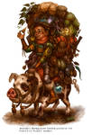 Scavenger for Talisman The Cataclysm by feliciacano