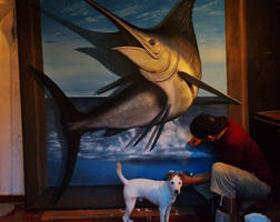 3D Marlin WIP by AnthonyRojas