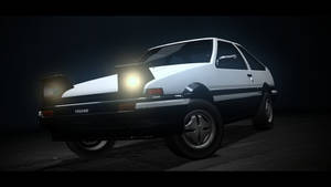 Toyota AE86 by SlayerTheFox115