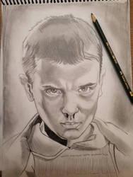Eleven pencil