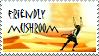 Friendly Mushroom Stamp by drag0nr1der