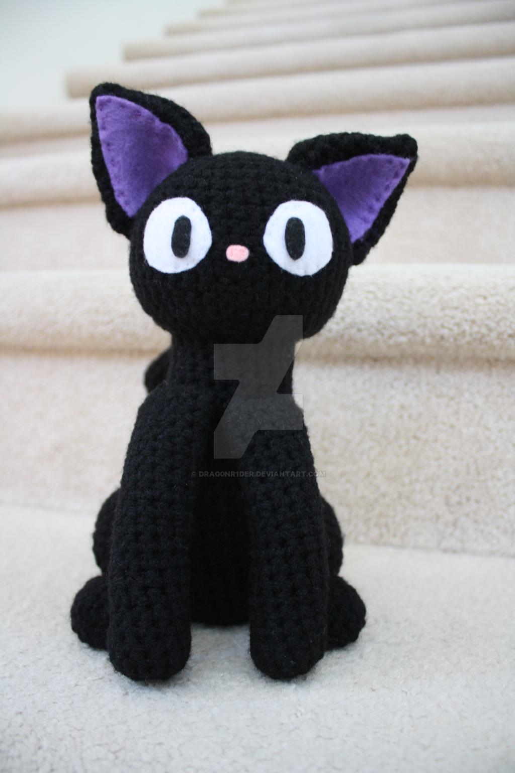 Amigurumi Pattern Free Rabbit : Crochet Jiji - Kikis Delivery Service by drag0nr1der on ...