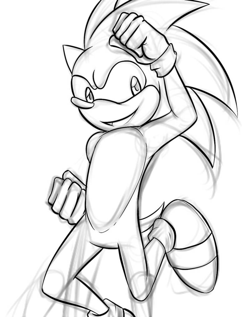 Sonic WIP by TEWdrop
