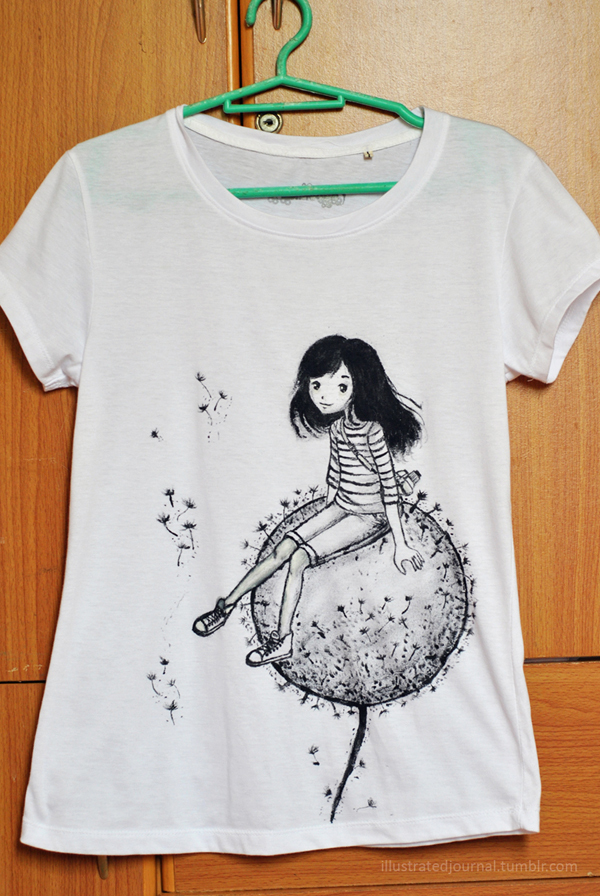 Personalized t shirt by lunarrain27 on deviantart for How to paint on t shirt