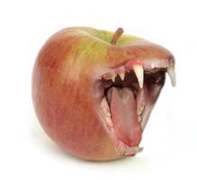 Apple that bites back by jewelz17