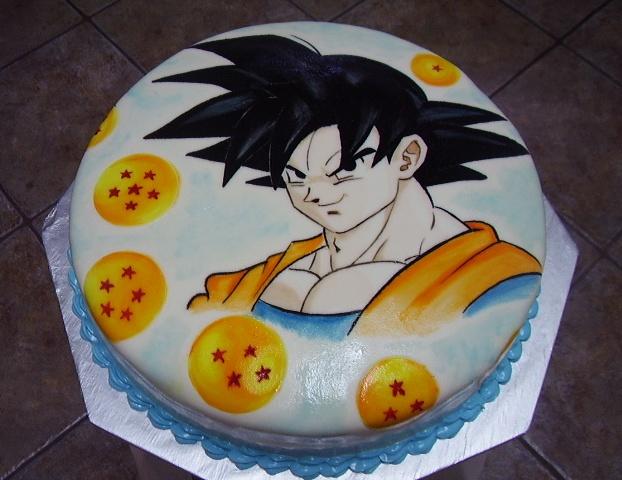 My DBZ cake by MarcellaYouko on DeviantArt