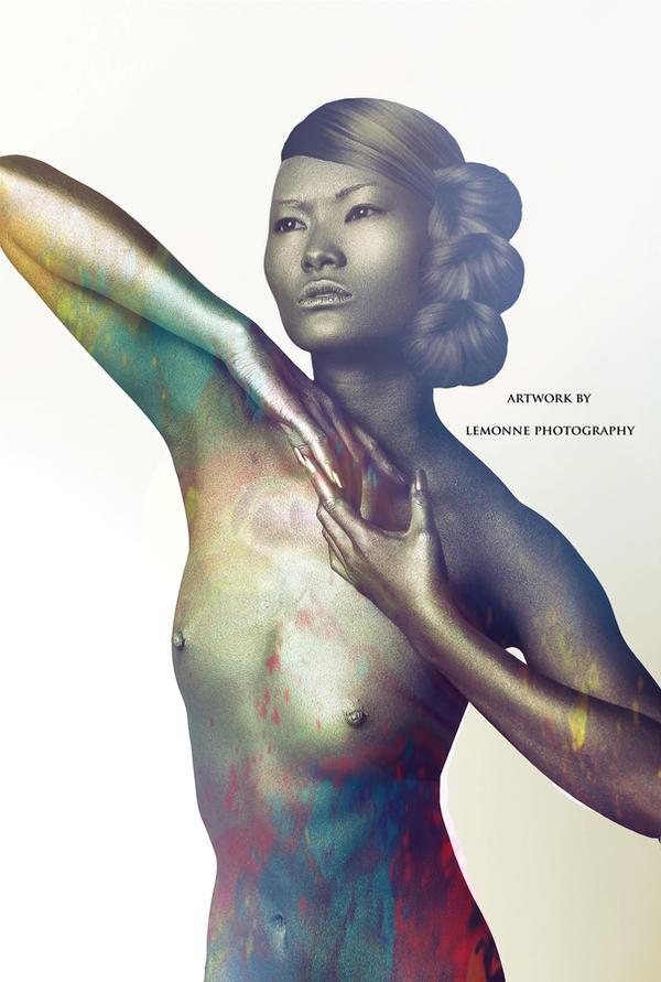 Golden Universe by LadyLemonne