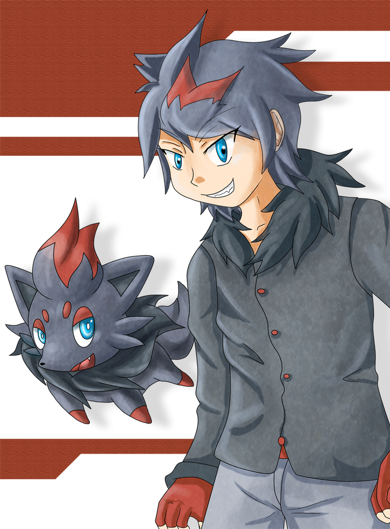 Zorua And Zoroark Gijinka