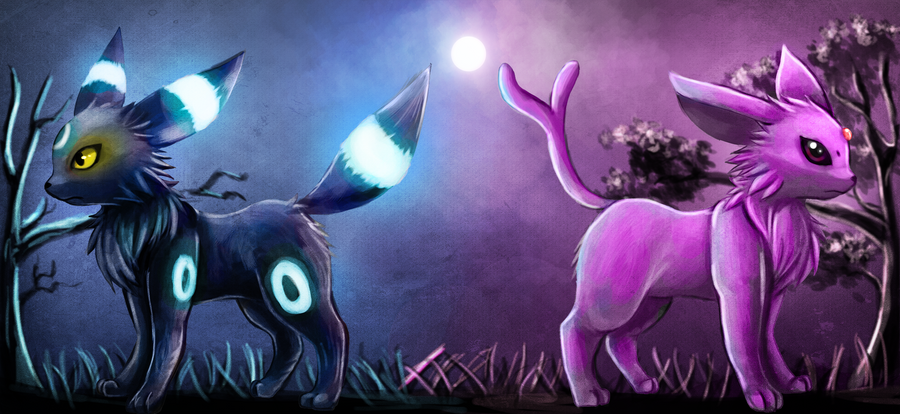 umbreon and espeon hd - photo #33