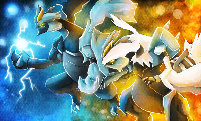 Kyurem forms by deruuyo on deviantart - Pokemon kyurem noir ...