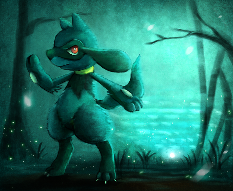 The Dawn Riolu by Deruuyo