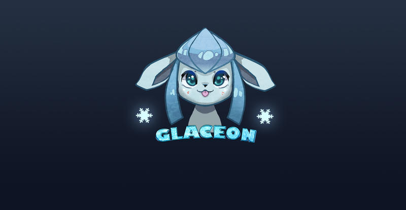 Glaceon BG by Deruuyo