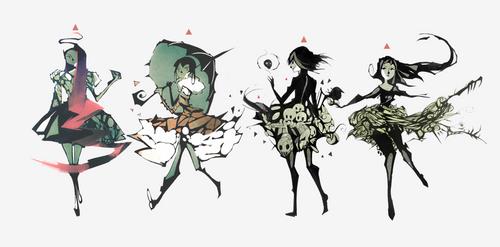 Skulls N' Roses by NanoMortis