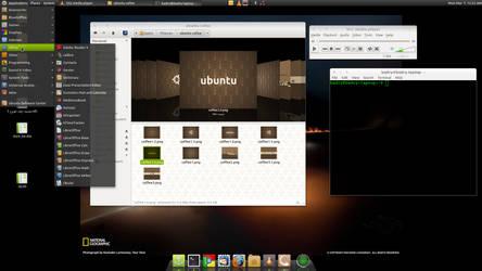 My Desktop march 2011 by free-programmer