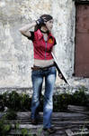 Claire Redfield cosplay. Let me Live