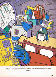 A Rainy Afternoon For The Autobots