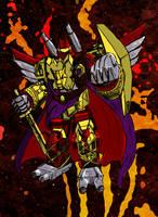 Beast General Predaking by Drancron