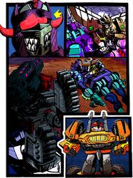 Transwarp: Csirac #4 Page 7 Coloured. by Drancron