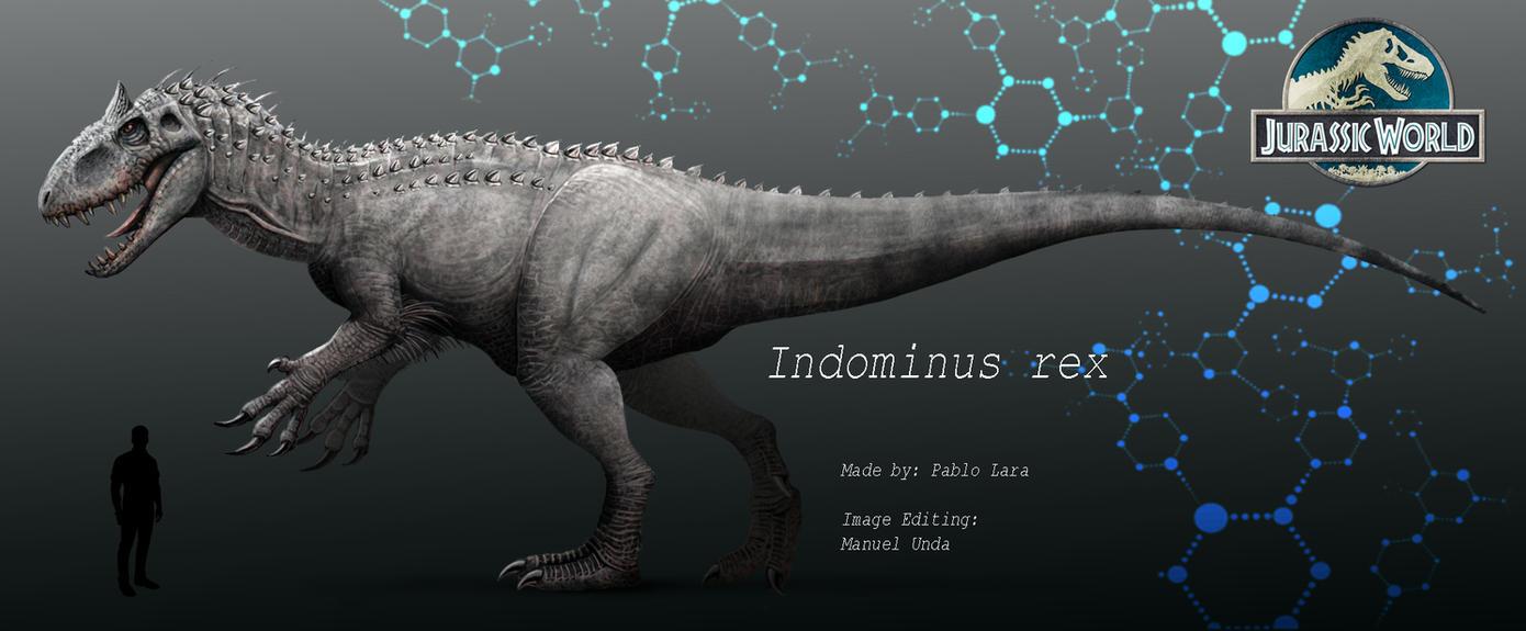 jurassic world indominus rexmanusaurio on deviantart