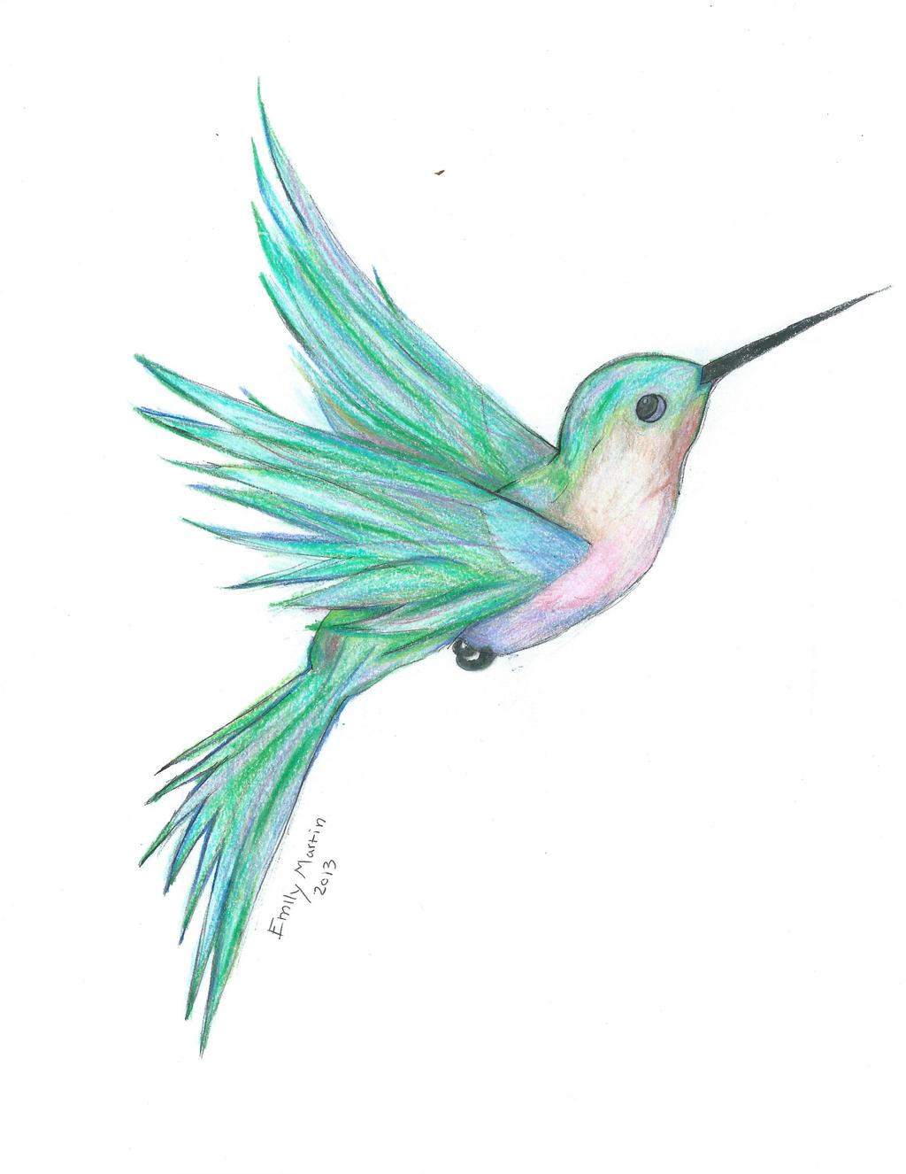 Hummingbird By EmilySmiles 17 On DeviantArt