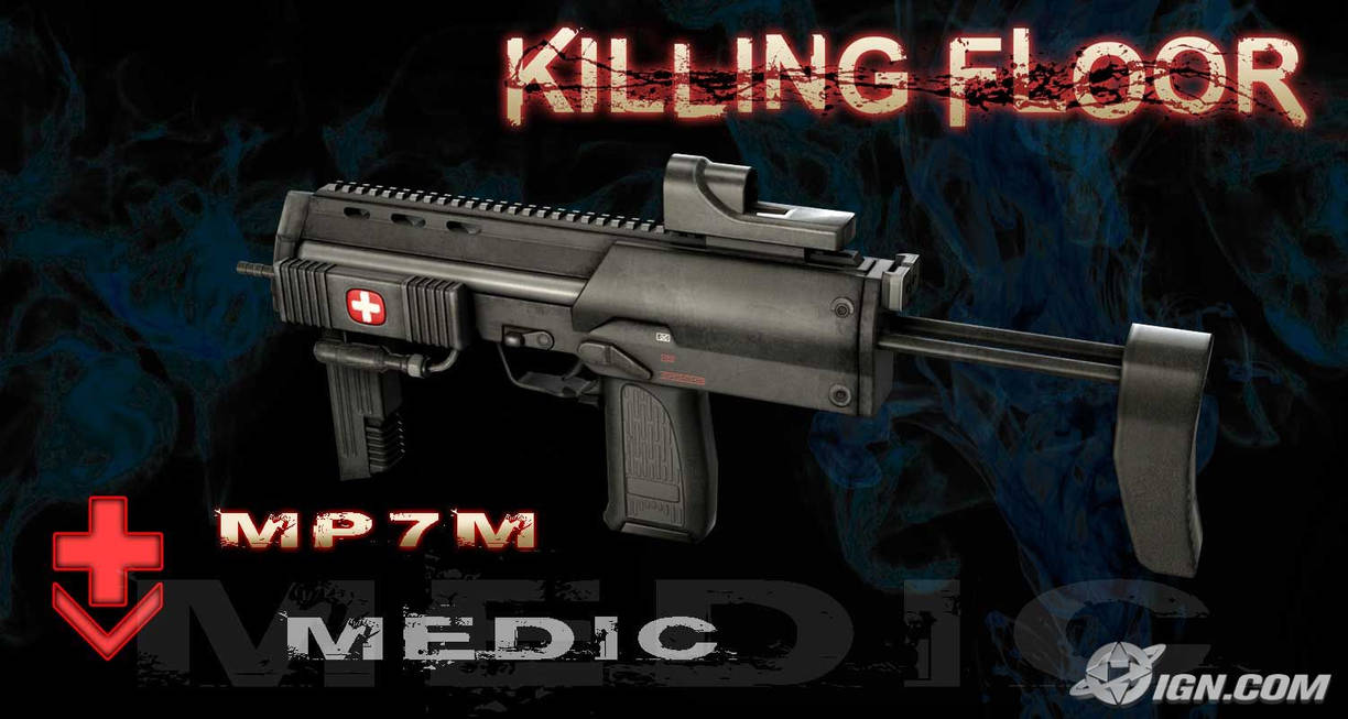 Killing Floor - MP7M by ElectricPokemonGT