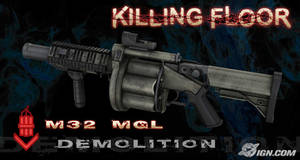 Killing Floor - M32 MGL by ElectricPokemonGT