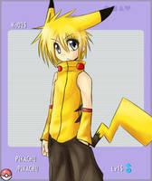 Pikachu by ElectricPokemonGT