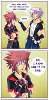 Riku's New Threads 2 by SassyKatArt