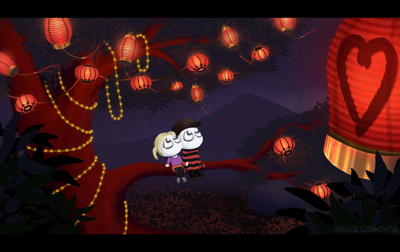 Lantern Festival Love by GR3G0R