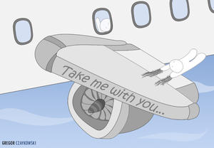 Take Me With You: The Plane by GR3G0R