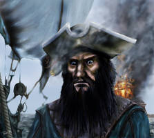 Cpt Blackbeard by Asynja