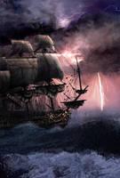 Rough Seas by Asynja
