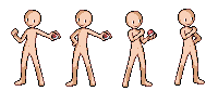 Base boy pokemon trainer sprite by MomokaHimari