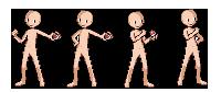 Base boy pokemon trainer sprite by MomokaHimari
