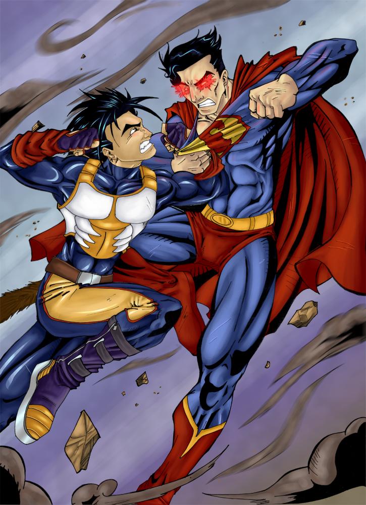 Goku Super Saiyan 4 Vs Superman | www.pixshark.com ...
