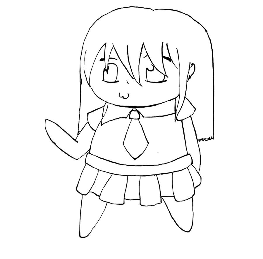 How To Draw Chibi Outline