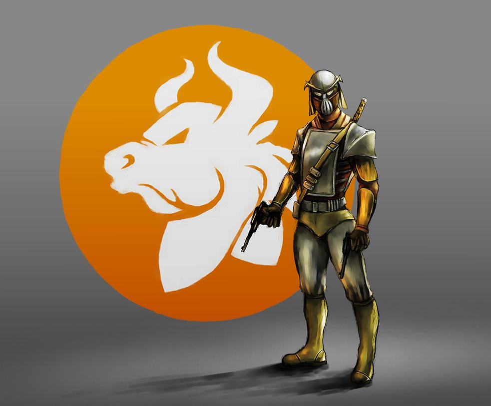 NGO Boardgame: Nortauron faction concept art by davicazu