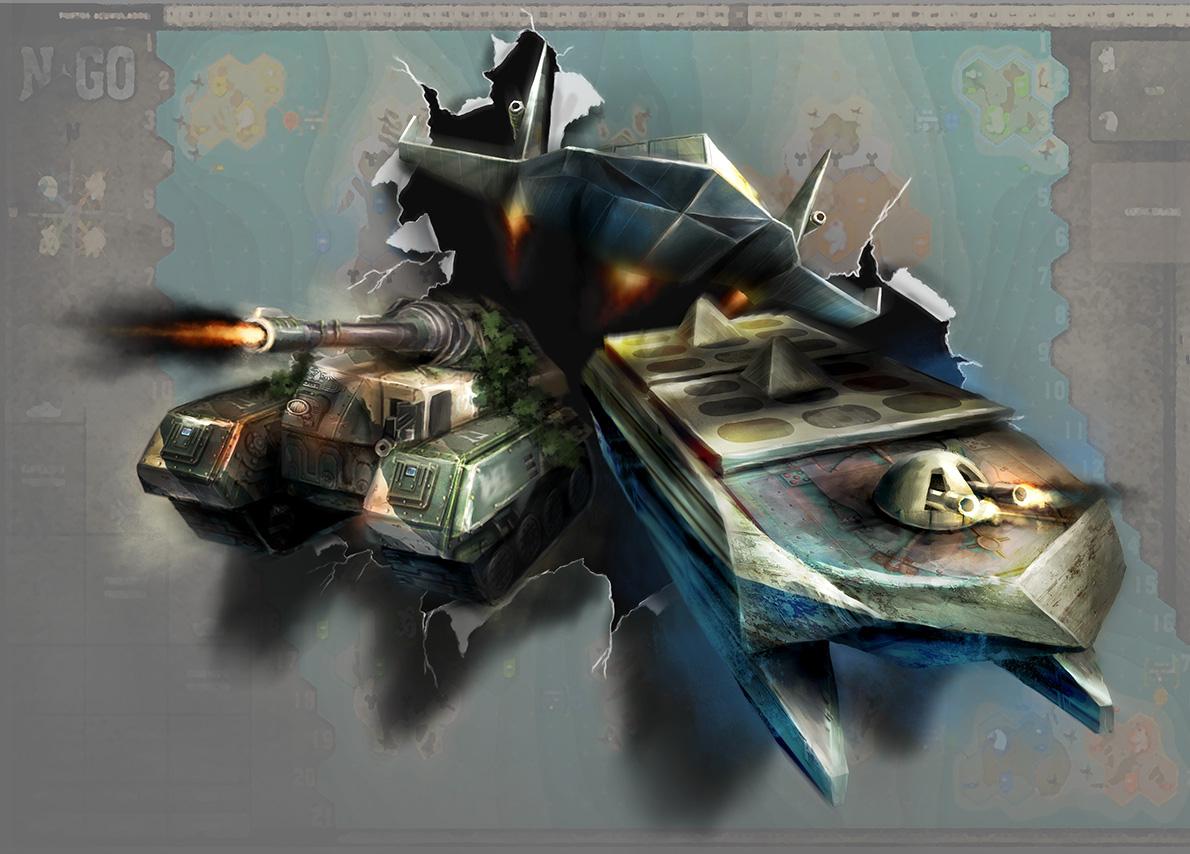 NGO Board game: box concept by davicazu