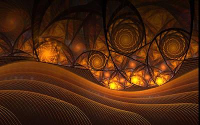 Sun Kissed Hills by deepbluerenegade