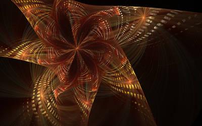 Discretized Flower by deepbluerenegade