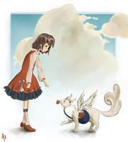 Flying Companion by Ashley425