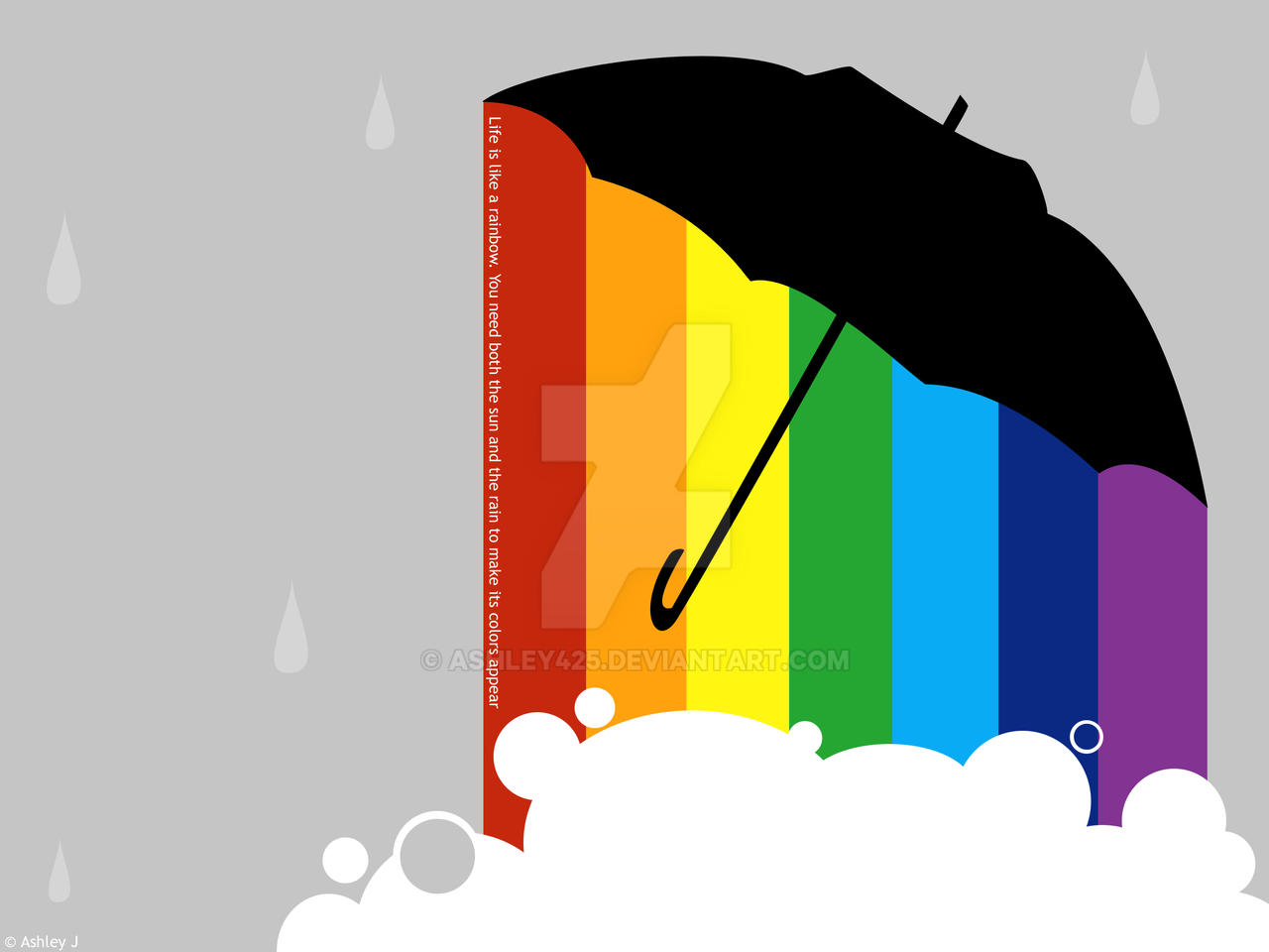 Life is like a Rainbow by Ashley425