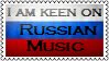 Russian music stamp by xrealisticx