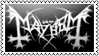 Mayhem Stamp by xrealisticx