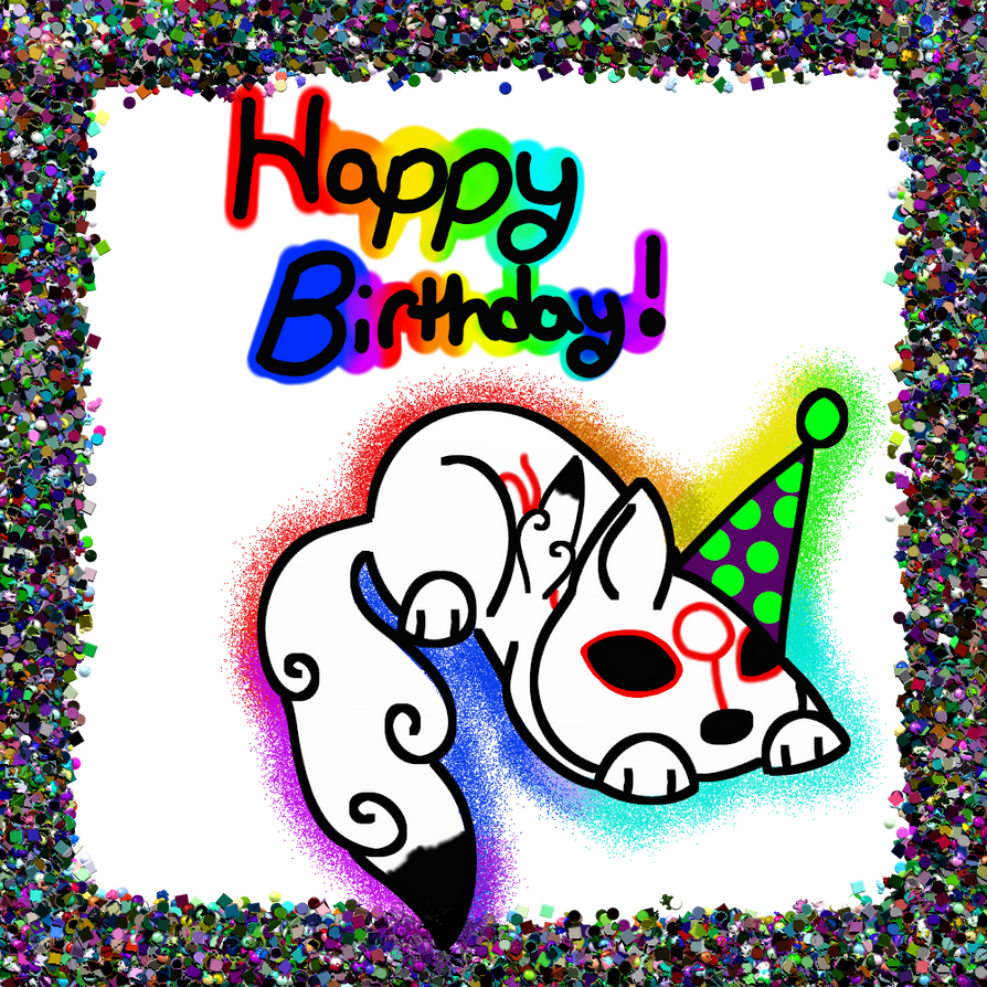Happy Birthday Katie By CollectionOfWhiskers On DeviantART