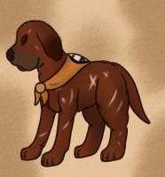 Canine Warrior Tei by CollectionOfWhiskers