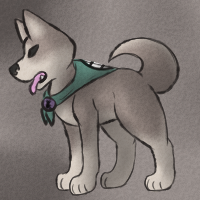 Canine Warrior Gi by CollectionOfWhiskers