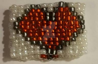 Two-Drop Peyote Stitch Seed Bead Ring